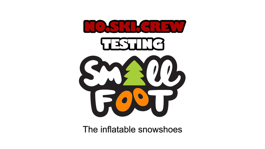 no ski testing smallfoot Тест на снегоходките SmallFoot